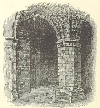 An illustration of the keep's basement
