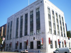 Federal Reserve Bank of San Francisco, Los Angeles Branch. This building is now loft apartments.