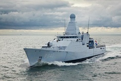 Zr. Ms. Holland, a Royal Netherlands Navy offshore patrol vessel