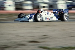 Tracy making his third start for Penske Racing at Laguna Seca in 1991