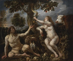 Fall of Man by Jacob Jordaens