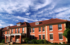 Jarvis Residence Hall on central campus at ECU