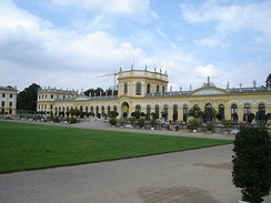 The Orangerie in the Karlsaue park
