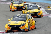 Команда LADA Sport на автомобилях LADA Vesta TC1, 2016