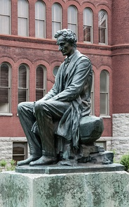 Seated Lincoln at Syracuse University