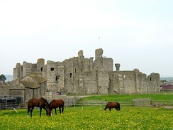 Middleham Castle was Warwick's favourite residence in England. In the late 1450s business in Calais kept him away from it for periods.