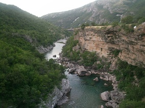 Morača River Canyon.