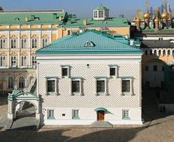 The Palace of Facets on the Cathedral Square of the Moscow Kremlin