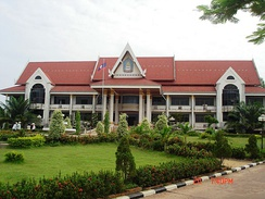 National University of Laos in Vientiane.