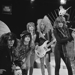 The New York Dolls in 1973
