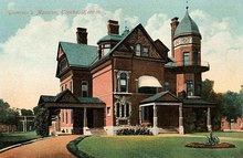 Old Governor's Mansion (1887), replaced by Cedar Crest in 1963 and demolished the following year