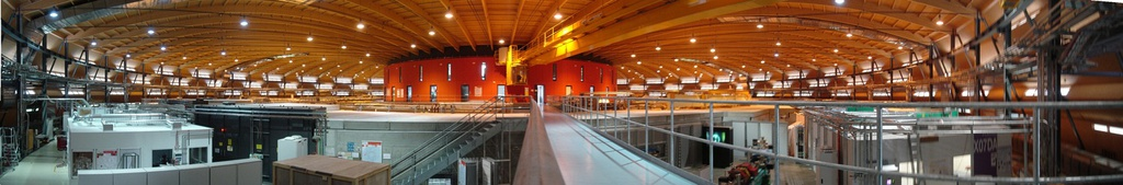 Panoramic view of the Swiss Light Source