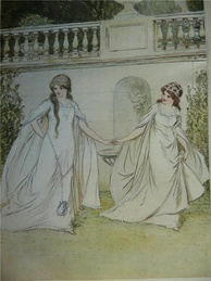 Rosalind and Celia by Hugh Thomson