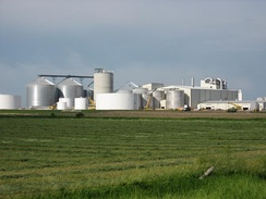 Ethanol plant in Turner County, South Dakota
