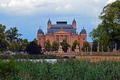 The Mecklenburg State Theatre in Schwerin