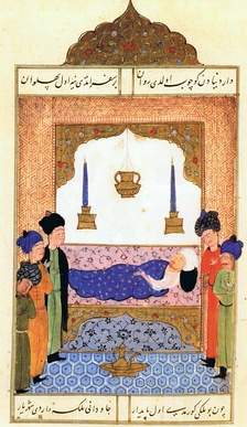 Selim I on his deathbed.