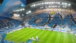 The Stade Vélodrome, home of Olympique de Marseille