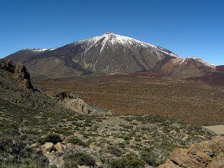 The Teide National Park in Tenerife, Spain
