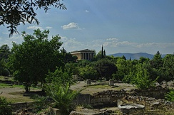 Temple of Hephaestus, Theseion