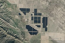 Some of the world's largest solar power stations: Ivanpah (CSP) and Topaz (PV), both in California