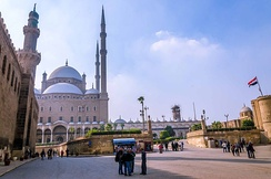 The Cairo Citadel today.