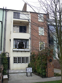 The rear of 78 Derngate