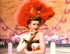 Lansbury in a scene from MGM's Till the Clouds Roll By (1946), one of her earliest film appearances