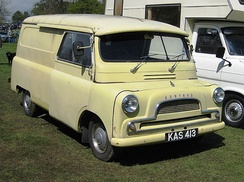 A Bedford CA type new in 1959