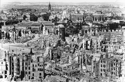 The destruction of Dresden, February 1945.