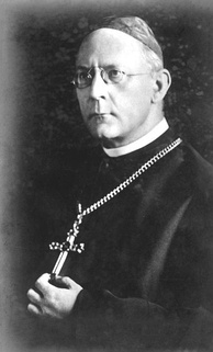 Cardinal Adolf Bertram, ex officio head of the German church from 1920 to 1945. He generally favoured a non-confrontational policy by the church towards the Nazi government.