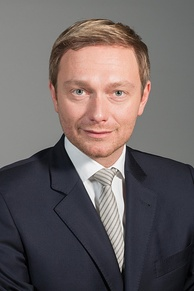 Christian Lindner is the party chairman, having succeeded Philipp Rösler in December 2013