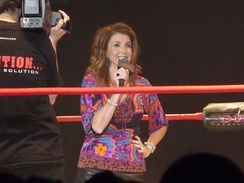 Dixie Carter was President of TNA from 2002–2017