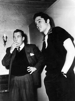 Photo of Elvis and Ed Sullivan