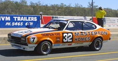 Bond placed third in the 1981 Australian Touring Car Championship driving a Ford Capri Mk.II