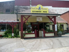 "A ""Cousin Jack's"" pasty shop in Grass Valley, California"