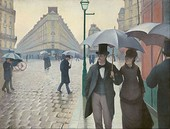 Gustave Caillebotte, Paris Street; Rainy Day, 1876–1877