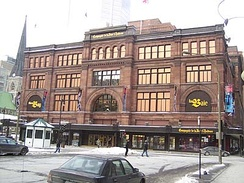 The Hudson's Bay Company building in Montreal