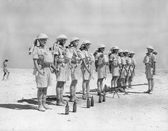 Indian troops in North Africa, 6 October 1940.