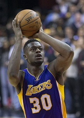 Julius Randle was selected 7th overall by the Los Angeles Lakers.