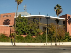 KCET's long time studios in Los Angeles.