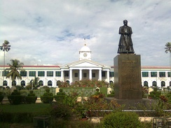 The Kerala Government Secretariat is the seat of administration of the Government of Kerala