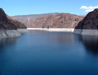 Lake Mead from the Hoover Dam