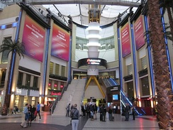 Entrance to Cineworld at the O2