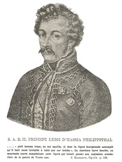Louis of Hesse-Philippsthal, the Bourbon commander.
