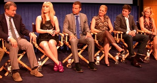 "The cast and crew of Melissa & Joey at an ""Onstage @ Paley LA"" event"