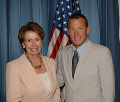 Armstrong and Congresswoman Nancy Pelosi