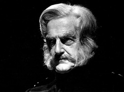 Peter Pears as the General in Owen Wingrave, 1971