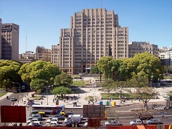 The University of Buenos Aires School of Medicine, alma mater to many of the country's 3,000 medical graduates, annually[274]