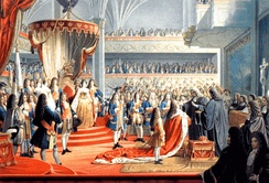 Coronation of Frederick I, King in Prussia, in 1701.