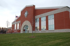 The Atlantic Fleet Drill Hall in Camp John Paul Jones at RTC Great Lakes, completed in December 2007